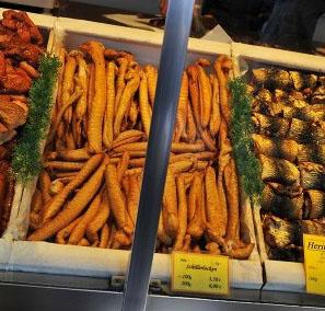 Schillerlocken am Markt